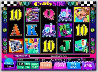 Play Crazy 80's @ BlackJack Ballroom Casino