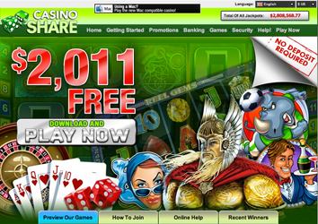 CasinoShare Website