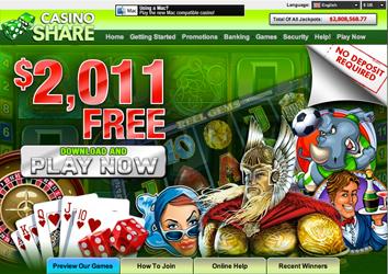 CasinoShare Website