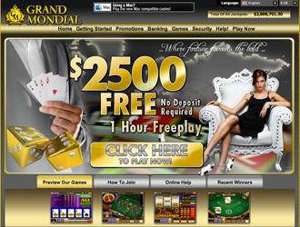 Grand Mondial Website