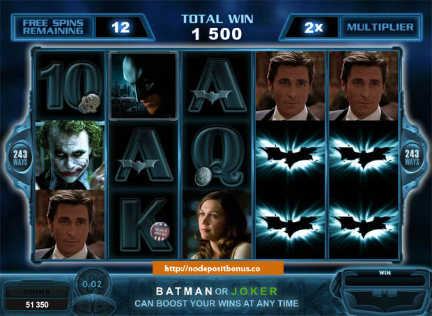 The Dark Knight Slots