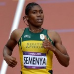 Caster Semenya wins the Olympic Silver medal in the Women's 800m final
