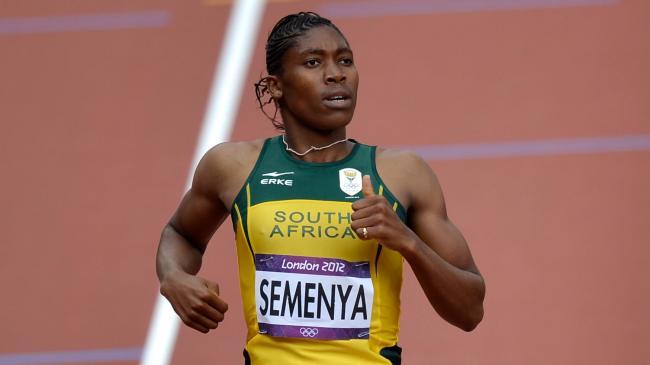Caster Semenya London Olympic Gold