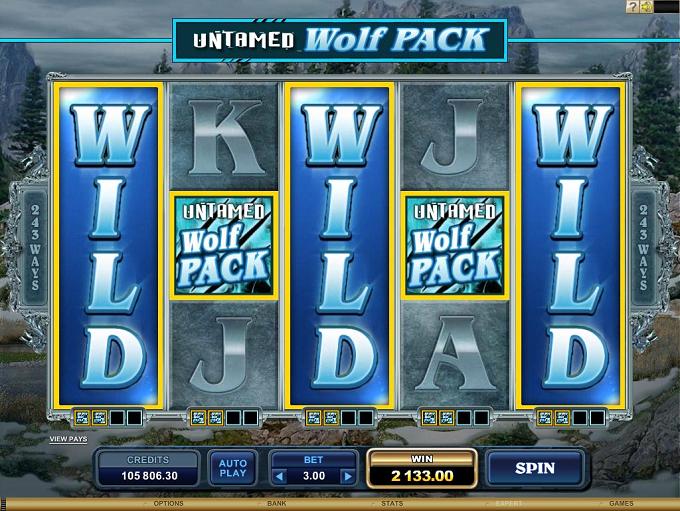 Untamed Wolf Pack Wilds