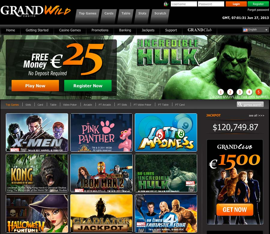 casino games free bonus no deposit