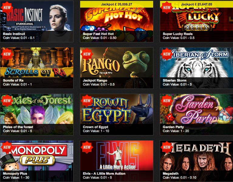 casino games with bonuses