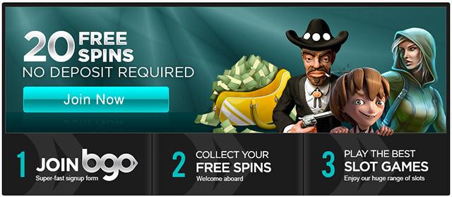 No deposit bonus free spins