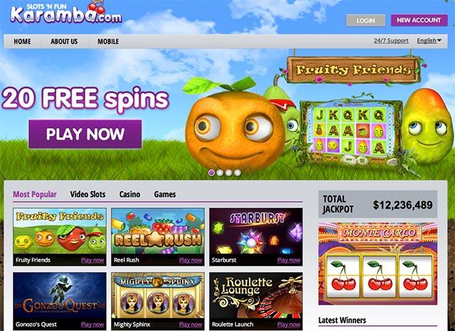 No Deposit Casino Bonus free spins