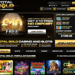No Deposit BONUS UK 2015 | Total Gold Casino £10 Free