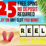 Reel Island Casino: 20 Free Spins No Deposit Required on ANY NetEnt Slot you want