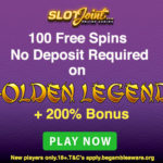 The Slot Joint Casino No Deposit Free Spins & Bonus Department Presents: 100 No Deposit Free Spins ain't no Joke!