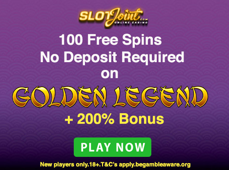100 No Deposit Free Spins Ain T No Joke Get Em Now At Slot Joint