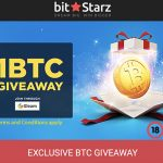 FREE BITCOIN!! Bitstarz Casino is giving away 1 Bitcoin (valued at €4500), No Deposit Needed!